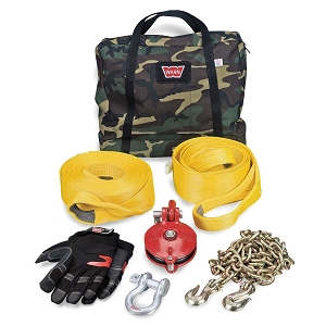 WARN Heavy-Duty Winching Accessory Kit