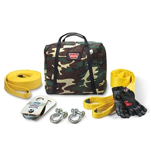 WARN Medium-Duty Winching Accessory Kit