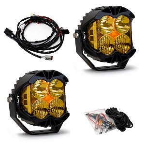 Baja Designs LP4 Pro Driving/Combo LED Light (Amber) (Pair)